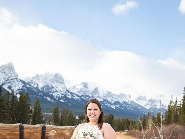 Victor and Kristine's wedding in Canmore, Alberta 7