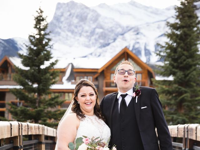 Victor and Kristine's wedding in Canmore, Alberta 13
