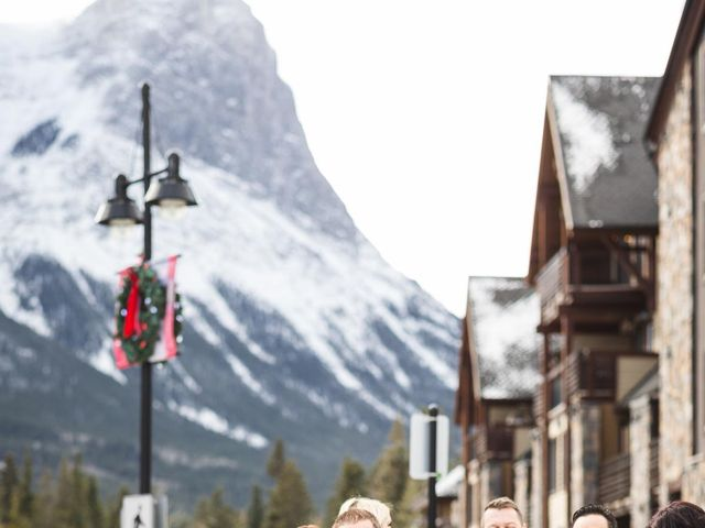 Victor and Kristine's wedding in Canmore, Alberta 16