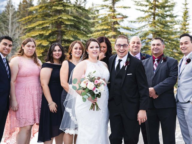 Victor and Kristine's wedding in Canmore, Alberta 18