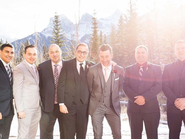 Victor and Kristine's wedding in Canmore, Alberta 19