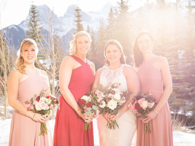 Victor and Kristine's wedding in Canmore, Alberta 21