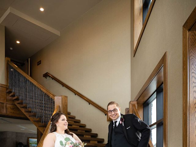 Victor and Kristine's wedding in Canmore, Alberta 25