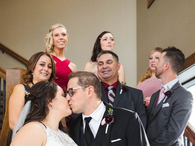 Victor and Kristine's wedding in Canmore, Alberta 26