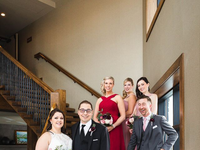 Victor and Kristine's wedding in Canmore, Alberta 27