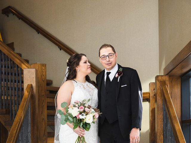 Victor and Kristine's wedding in Canmore, Alberta 28