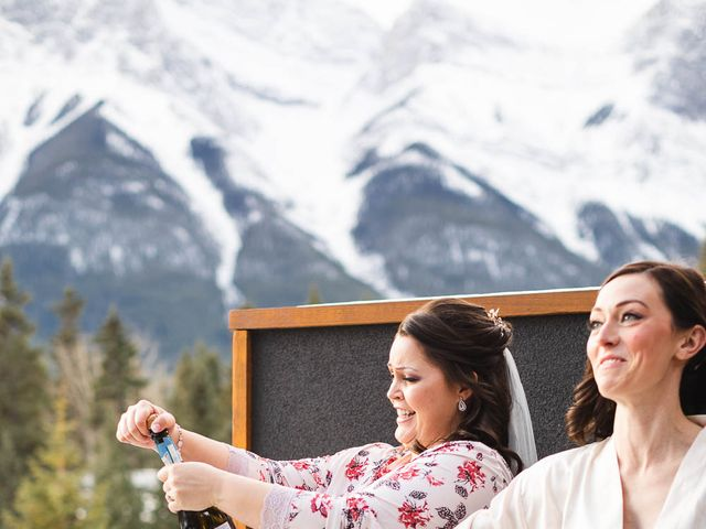 Victor and Kristine's wedding in Canmore, Alberta 37