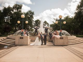 The wedding of Jared and Danielle