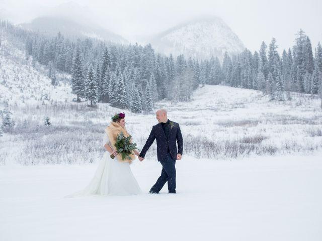 The wedding of Lorah and Brad