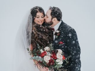 The wedding of Amanda Douglas and Chris Bazzarelli