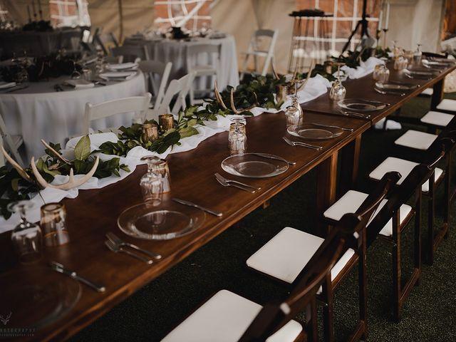 Erika and Zach's wedding in Vernon, British Columbia 9