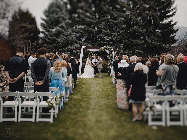 Erika and Zach's wedding in Vernon, British Columbia 21