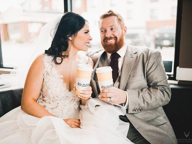 Erika and Zach's wedding in Vernon, British Columbia 1