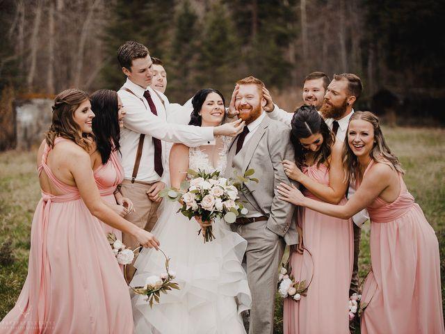 Erika and Zach's wedding in Vernon, British Columbia 29