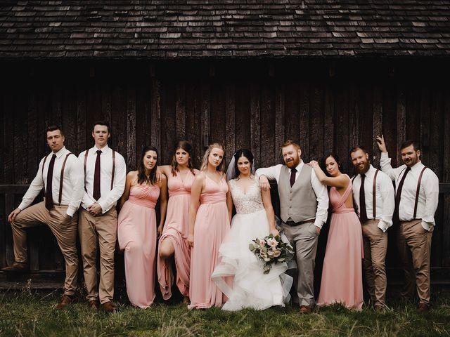 Erika and Zach's wedding in Vernon, British Columbia 32