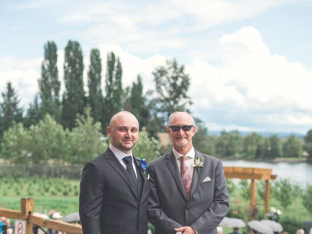 Chesney and Kristen's wedding in Prince George, British Columbia 5