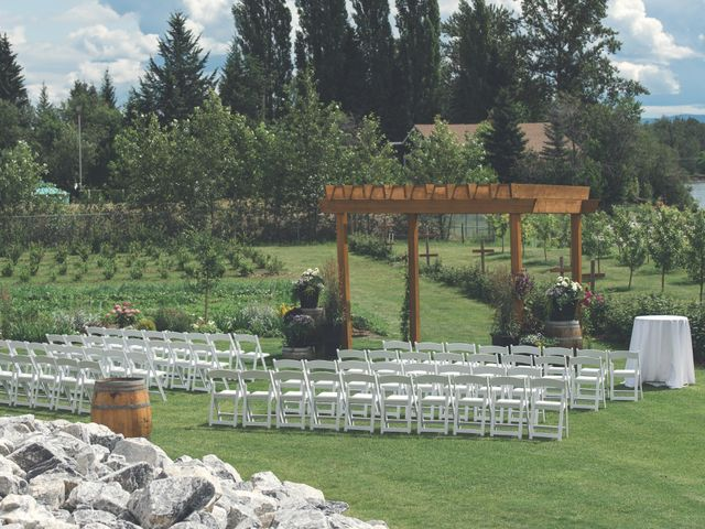 Chesney and Kristen's wedding in Prince George, British Columbia 1