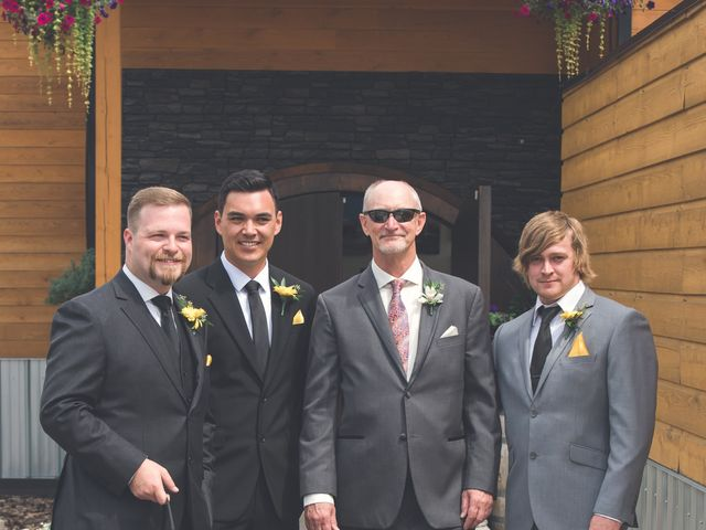 Chesney and Kristen's wedding in Prince George, British Columbia 8