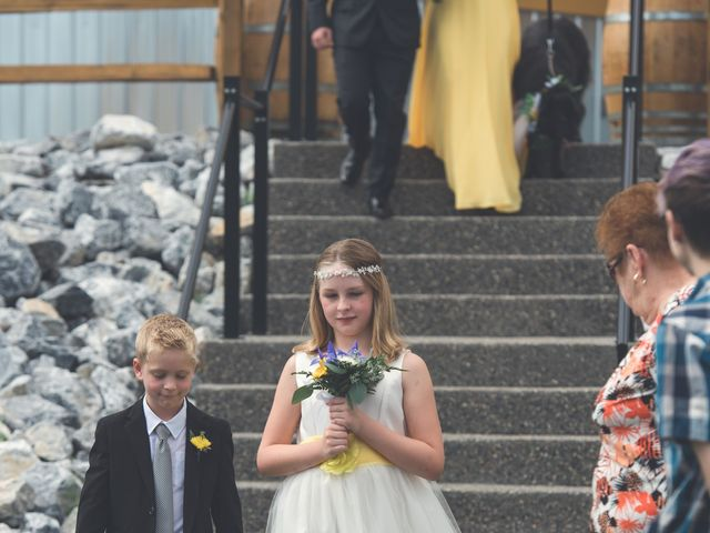 Chesney and Kristen's wedding in Prince George, British Columbia 9
