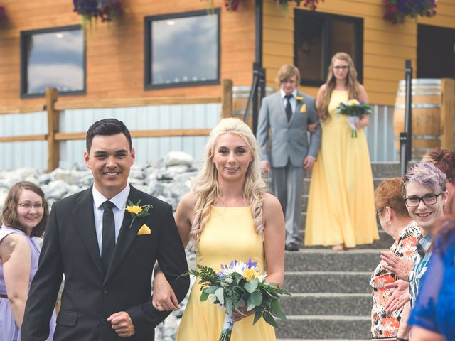 Chesney and Kristen's wedding in Prince George, British Columbia 11