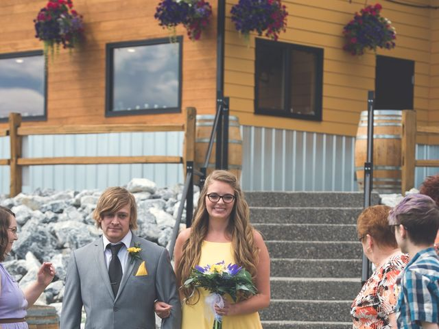 Chesney and Kristen's wedding in Prince George, British Columbia 12
