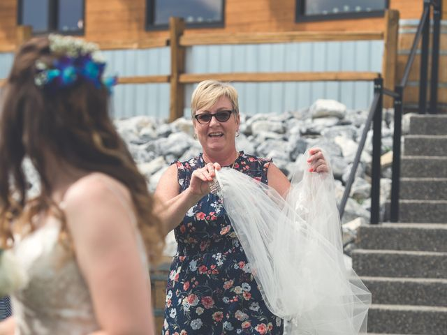 Chesney and Kristen's wedding in Prince George, British Columbia 16