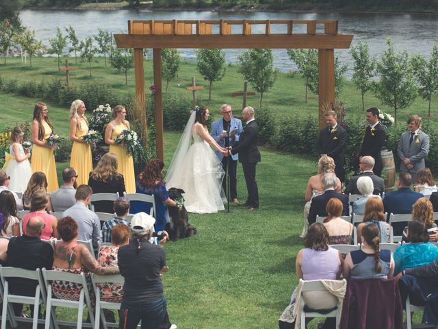 Chesney and Kristen's wedding in Prince George, British Columbia 20