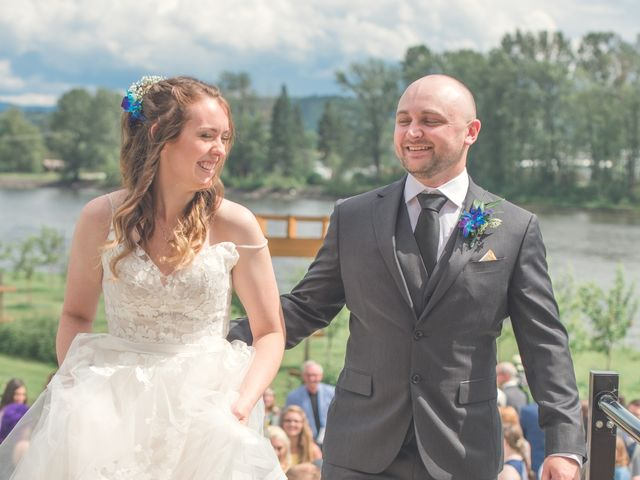 Chesney and Kristen's wedding in Prince George, British Columbia 30