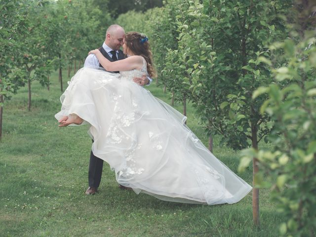 Chesney and Kristen's wedding in Prince George, British Columbia 2