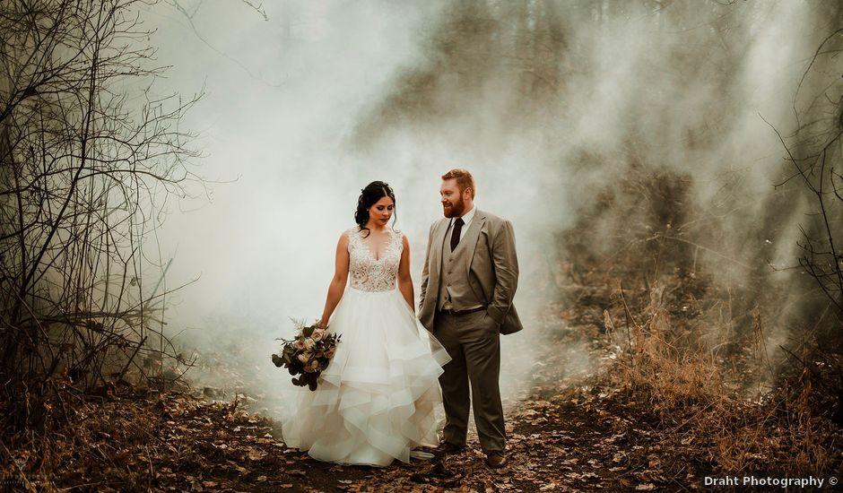 Erika and Zach's wedding in Vernon, British Columbia