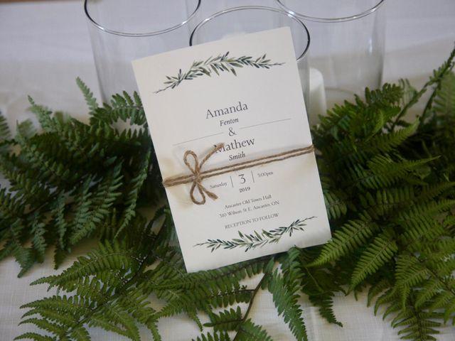 Mathew and Amanda 's wedding in Ancaster, Ontario 7