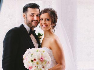 The wedding of Nicole and Falvio