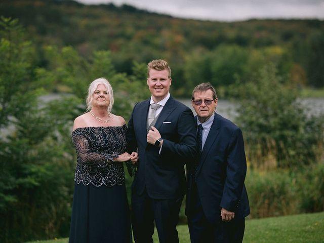 Alex and Nicole's wedding in Huntsville, Ontario 401