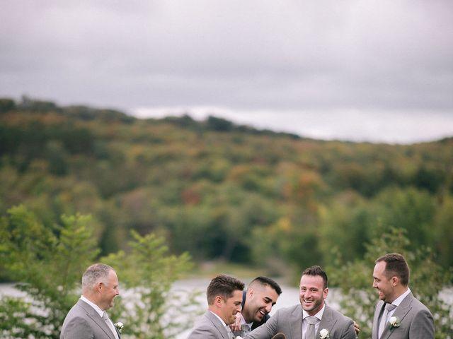 Alex and Nicole's wedding in Huntsville, Ontario 456