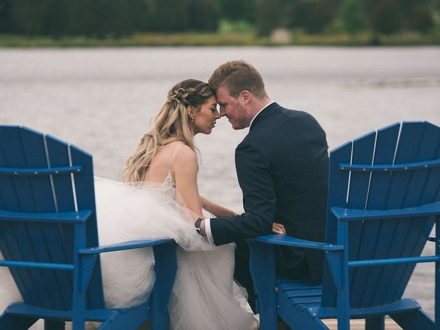 Alex and Nicole's wedding in Huntsville, Ontario 1