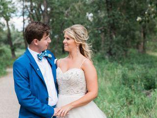 The wedding of Heather and Brett