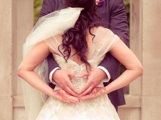 The wedding of Kreeshna and Christian
