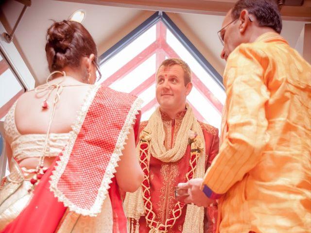 Christian and Kreeshna's wedding in Toronto, Ontario 26