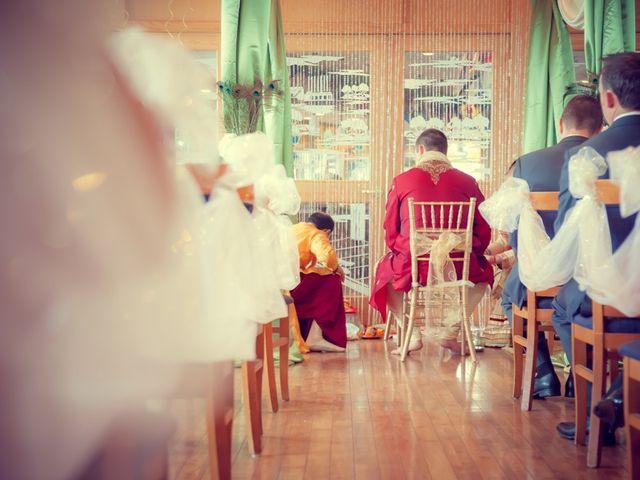 Christian and Kreeshna's wedding in Toronto, Ontario 28