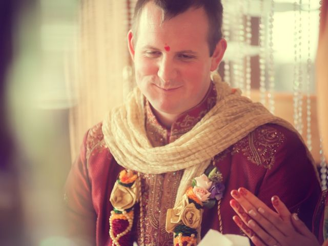 Christian and Kreeshna's wedding in Toronto, Ontario 33