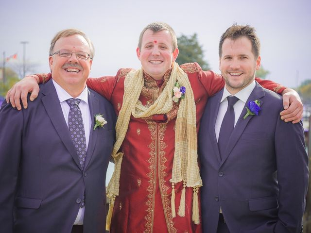 Christian and Kreeshna's wedding in Toronto, Ontario 37