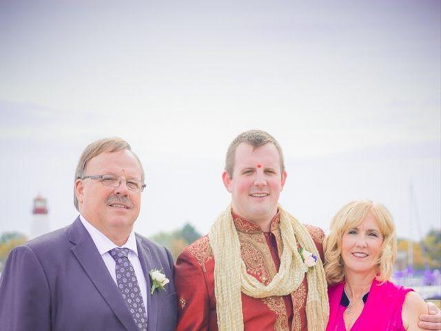 Christian and Kreeshna's wedding in Toronto, Ontario 38