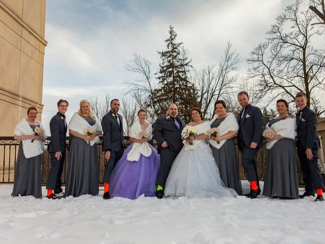 Heather and Tony's wedding in Vaughan, Ontario 12