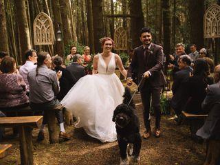 The wedding of Erin and Sashar
