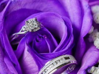 The wedding of Malika and Kennton 1
