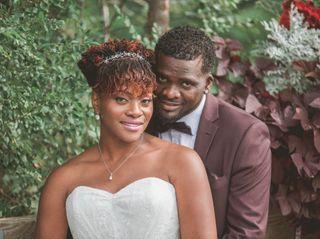 The wedding of Malika and Kennton