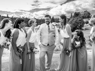The wedding of Reece and Jenn 1