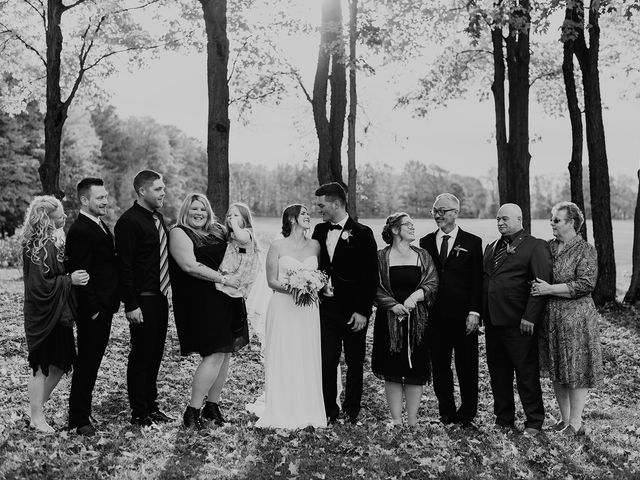 Clinton and Samantha's wedding in Coldwater, Ontario 65