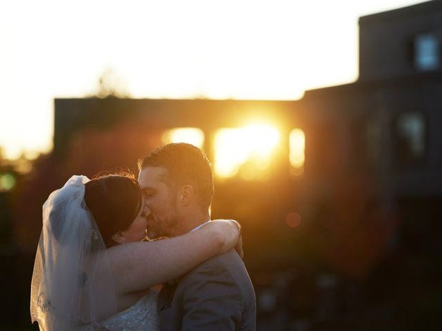 The wedding of Misty and Scott