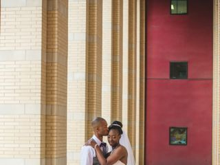 The wedding of Tamela and Andrew